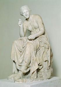 Calliope, la musa della poesia