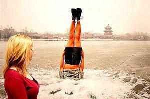 """""""Falls to the richter"""" di Li Wei"""