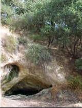 Nella foto l'antro di Fauno, oggi meta di visitatori