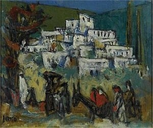 Marcel Janco, On the Way to Ein Hod