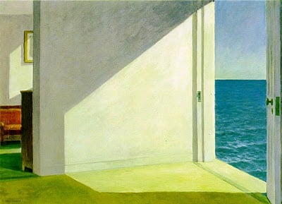 """Edward Hopper """"Rooms by the Sea"""""""