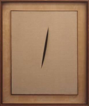 Concetto spaziale 'Attesa' (Lucio Fontana, 1960)