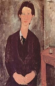 Ritratto di Chaïm Soutine realizzato da Modigliani