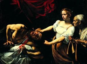 Caravaggio, Giuditta taglia la testa a Oloferne