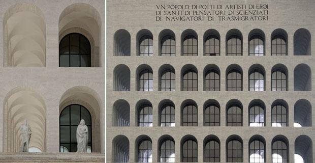 Palazzo della Civiltà Italiana (o Palazzo della Civiltà del Lavoro, o Colosseo Quadrato); EUR, Roma