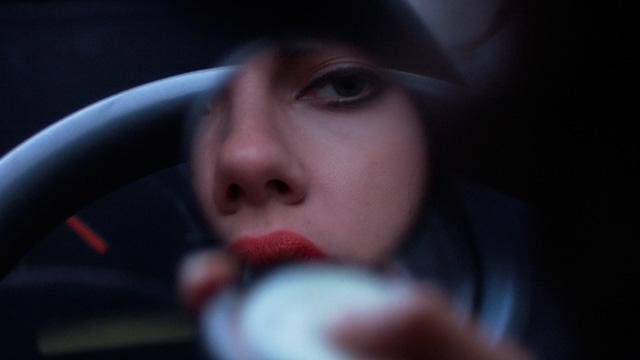 Scarlett Johansson in a still from Jonathan Glazer's Under the Skin