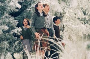(L-R) GEORGIE HENLEY, ANNA POPPLEWELL, WILLIAM MOSELEY, SKANDAR KEYNES